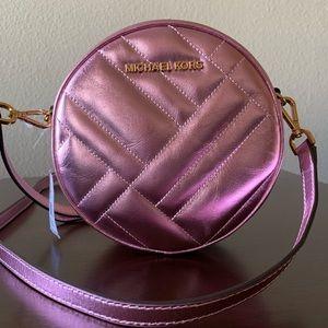 NWT💗Michael Kors Pink Vivianne Canteen Crossbody